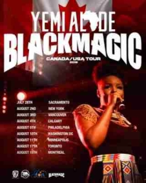 "Yemi Alade Set To Rock Canada/USA with ""Black Magic World Tour"""